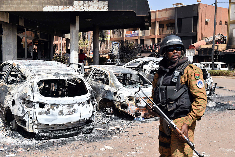 Issouf Sanogo/AFP/Getty Images // A recent spate of attacks against Western interests, including one in January against the Splendid Hotel in Ouagadougou, Burkina Faso, mark the expanding operations of al Qaeda in the Islamic Maghreb as it struggles to remain relevant.